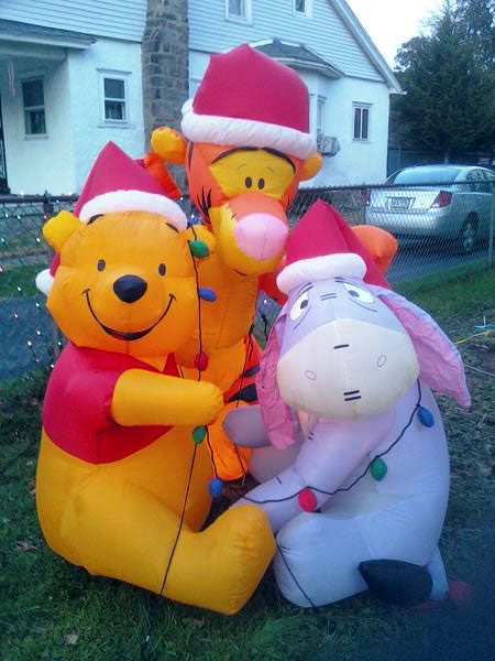 Winnie the Pooh and Tigger, Too (Click to enlarge)