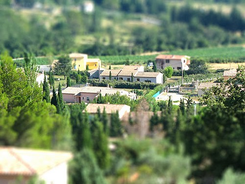 Tilt shift - the easy way