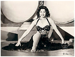 Samia Gamal, La Grande Danseuse Egyptienne (1924-1994) (Tulipe Noire) Tags: africa star artist famous egypt middleeast dancer belly cairo 1950s egyptian actress samia gamal