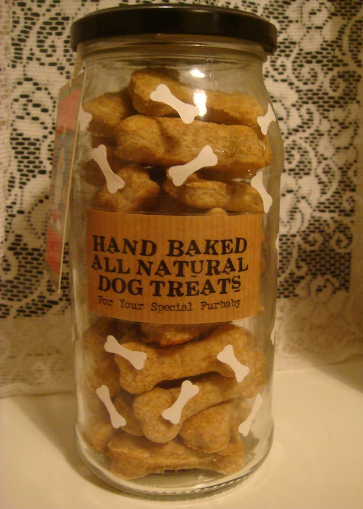 Hand Baked Dog Treats Gift