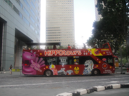 Hop on Hop off Hippo Tours Bus