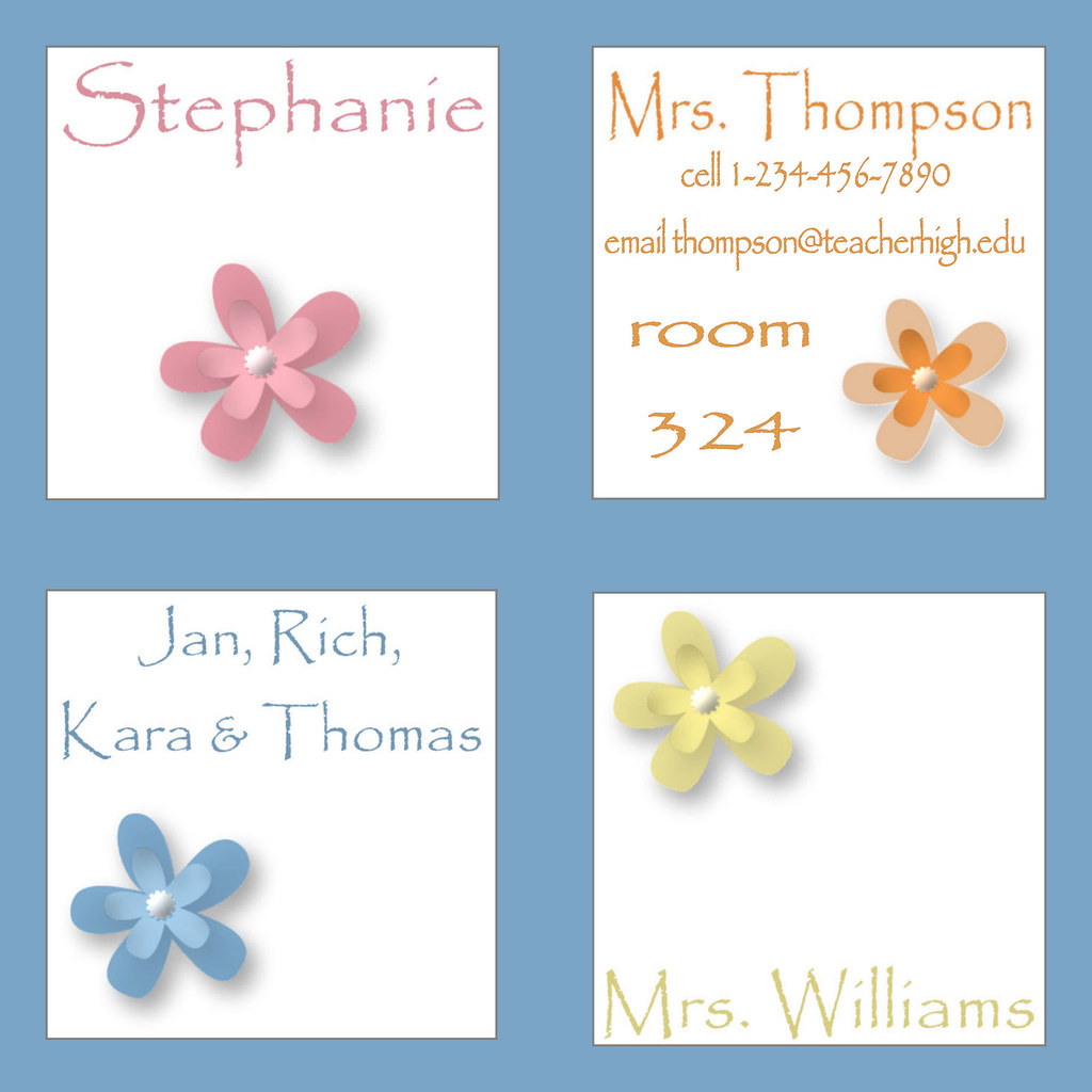 personalized favor tags enclosure cards note calling business mommy mom polka dot flower floral circle photo baby shower wedding bridal birthday anniversary rose monogram butterfly fall autumn leaves