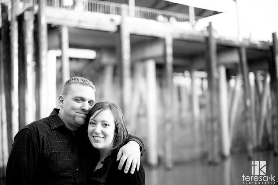 Delta King Engagement Shoot, Old Town Sacramento Engagement Shoot with Brittany and Shaun by Sacramento Wedding Photographer Teresa Klostermann of Teresa K photography