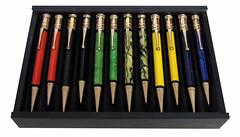 Parker Duofold Flat Top Pencils (vicent.zp) Tags: 1920s senior pencil vintage thirties 1930s junior parker duofold twenties mechanicalpencil portaminas writinginstruments parkerpencil duofoldflattop