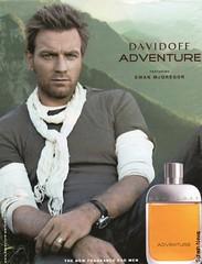 Davidoff Adventure Ewan McGregor