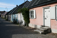 2010-09-05 Sweden, Gotland, Visby - Village street and houses in the town (Travel With Olga) Tags: city church island sweden churches medieval ramparts gotland viking merchant visby stmarys hanseatic 1525 stlars nationalgeographicexplorer