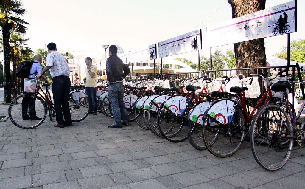 Ecovolis - Bike sharing system in Albania