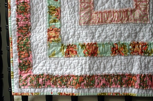 Ruffle Quilt - quilting