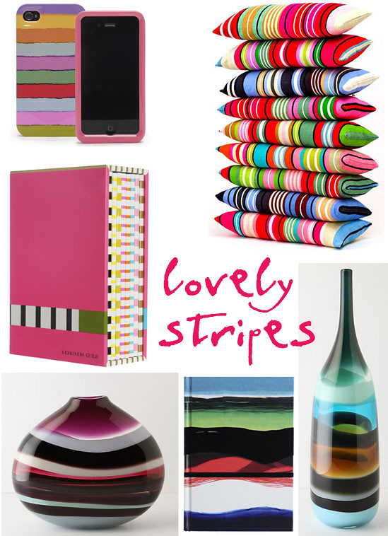 Stripe accessories