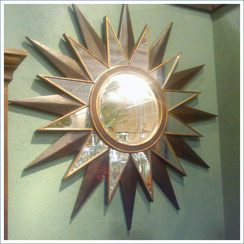 paul michael sunburst mirror