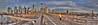 The Morning Commute (ADFitz1967) Tags: newyork brooklynbridge manhattan bridge cyclist morning worldtradecentre wtc downtown eastriver commuter panorama