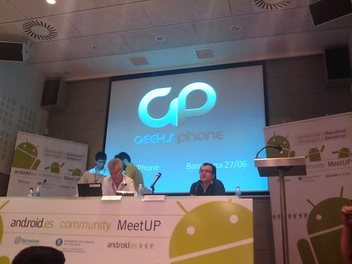 proximamente la presentacion de geeksphone por CytecK.