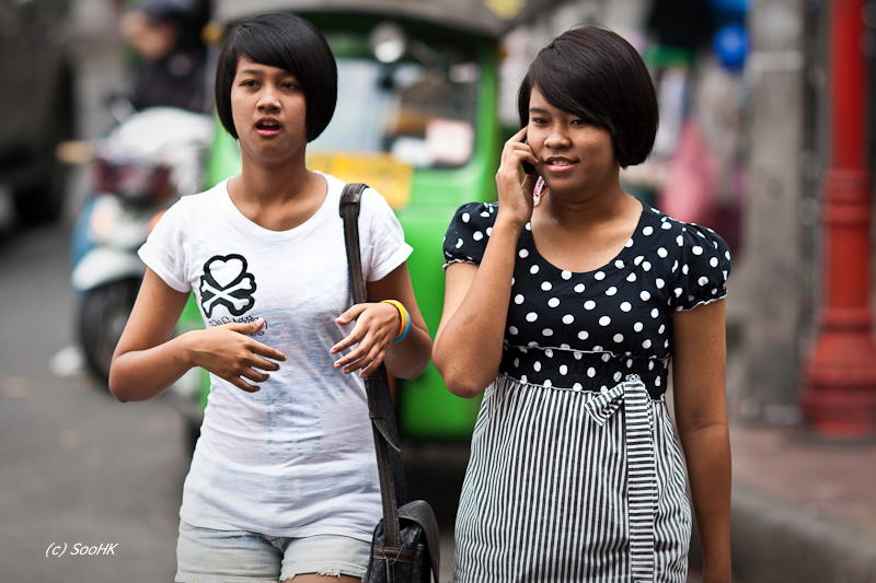 Mobile Phone Generation @ Bangkok, Thailand