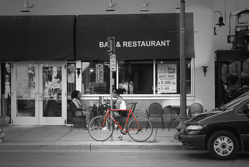 uptown red bike