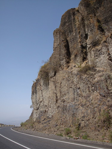 Magnificent cliff