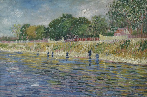 """Bank of the Seine, Vincent van Gogh (1887)"" / ""Oever van de Seine, 1887 Vincent van Gogh (1853-1890)"""