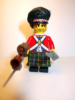 Highlander custom minifig