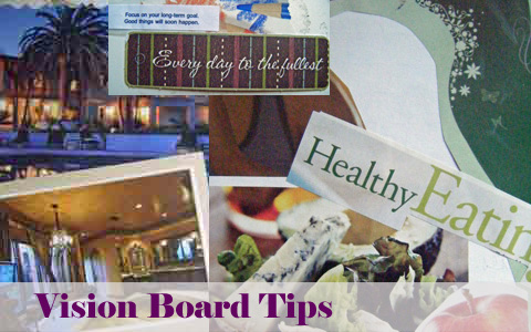 Vision Board Tips