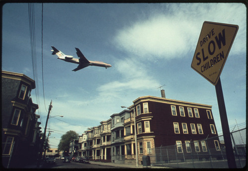 Approaching Logan Airport. 05/1973. Photo from US National Archives on Flickr