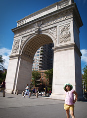 Washington Square Arch by Clover_1, on Flickr
