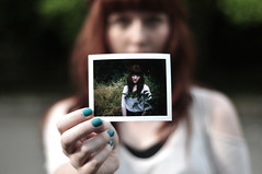 * (jon madison) Tags: seattle park red people hair polaroid meetup redhead shannon freckles discovery jonmadisoncom dsc6915 polashow