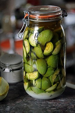 macerating green walnuts