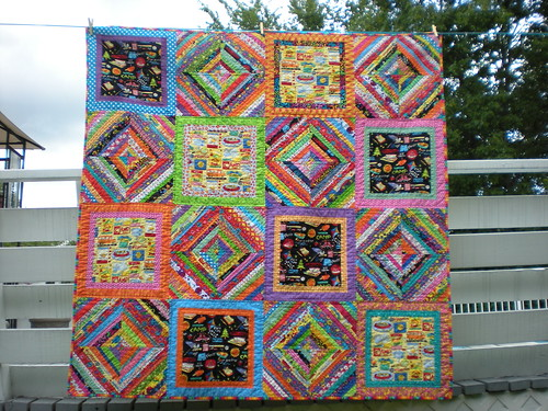 Picnic Quilt Finished!