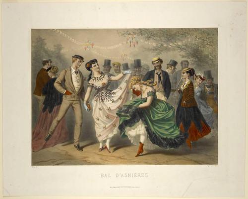 010-Baile de Asnières 1870