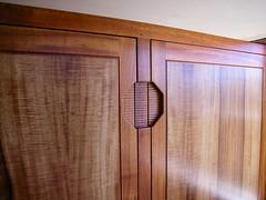 White Koa Cabinet Detail 1