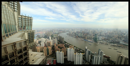 Panorama from the Jinmao