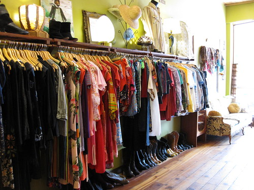 Aunt Olive's Vintage Clothing Store in Ottawa, ON
