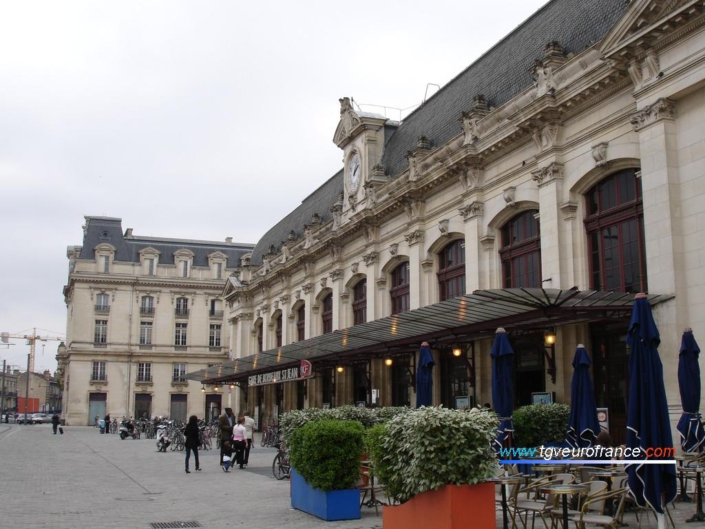 Vue d'ensemble de la gare de Bordeaux