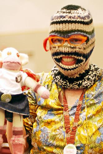 masked me wih monkey