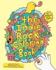 The Indie Rock Coloring Book (Andy J Miller) Tags: music bird rock illustration indie coloringbook ybp yellowbird chroniclebooks andyjmiller