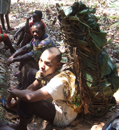 packing out bushmeat