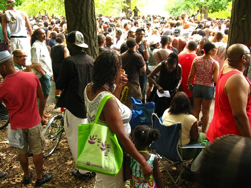 the last Soul Summit of 2009 in Fort Greene Park - 53