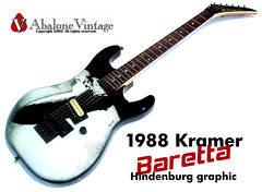 Vintage KRAMER guitar! 1988 Baretta Dennis Kline Hindenburg Zeppelin Zepplin graphic (eric_ernest) Tags: original musician music art classic beautiful museum vintage photo cool pointy photos guitar sale 1987 band guitars columbia musical instrument series eddievanhalen 1986 halen rare kramer guitarist recording hardrockcafe airbrush guitarplayer pickups vibe paf patent humbucker guitarcollection evh airbrushed guitarcenter guitarsolo madeintheus baretta madeintheusa vintageguitar guitarshow edwardvanhalen garphic vintageguitars guitarshows guitarcollections beautifulguitar rareguitar guitarphotos rareguitars kramerkonvention guitarcollecting vintagekramerguitars pafpickups abalonevintage vintagekramer denniskline httpwwwabalonevintagecom