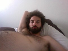 "Happyjoel in ""The World's Least Flattering Picture!"" (happyjoelmoss) Tags: hairy hair beard gut moss photobooth joel fat stomach pale disgusting jewish levinson bloated unflattering jewfro happyjoel"
