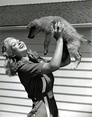 carole landis dog