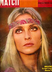 Sharon Tate - Paris Match (August 23, 1969) (sheruinsyou) Tags: 1969 vintage 1960s magazines memorabilia sharontate sarahscollection