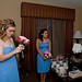 Bridesmaids & Kristy - Hotel Candid
