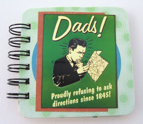 Retro Spoof Post It Holder