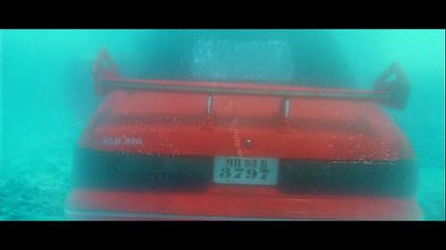 SLK 320 under water