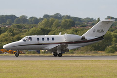 G-HEBJ - EBJ Operations Ltd - Cessna 525 Citation CJ1 - Luton - 090714 - Steven Gray - IMG_4025