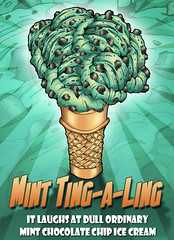 MINT POSTER copy (Husky Animator) Tags: art design drawing cartoon mint icecream create draw tingaling minticecream westernny minttingaling perrysicecream mintcandypeices