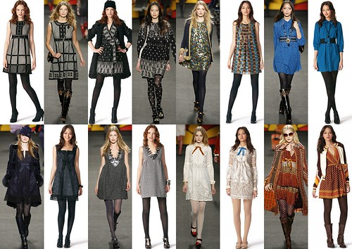 Anna Sui for Target vs. Anna Sui Fall 2006