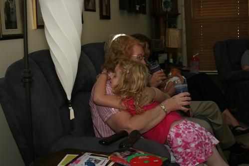 Grandpa Jim Visits Carrie