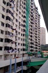 Old HDB flats at Chinatown