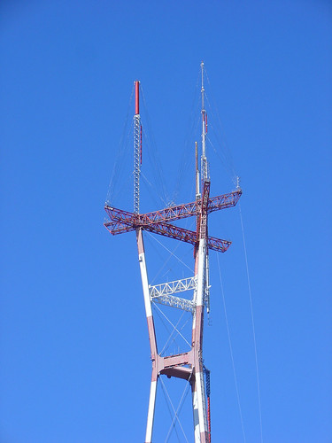 Sutro Tower DTV Conversion Progress