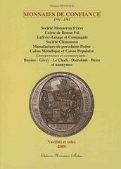 MONNAIES DE CONFIANCE 1791-1792